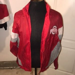 Starter jacket Ohio state buckeys